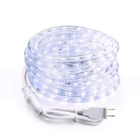 18ft 216 LED Rope Lights 120V UL White