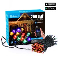 200 LED Dimmable String Lights Multi Color