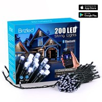 Bluetooth Smart 200 LED Christmas String Lights Cool White
